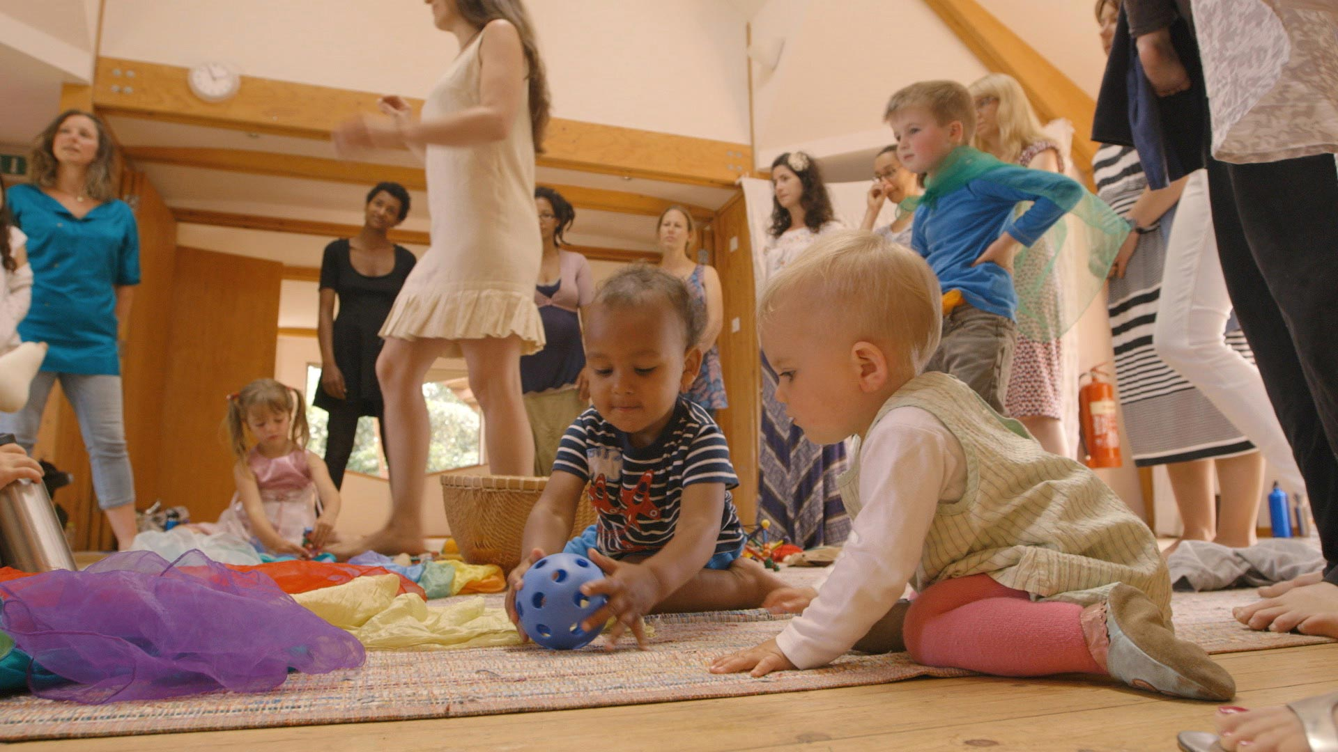picture of babies on floor